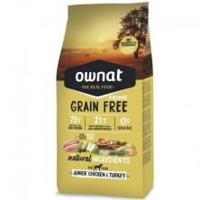 Ownat Prime Grain Free Junior Pollo 14 Kg