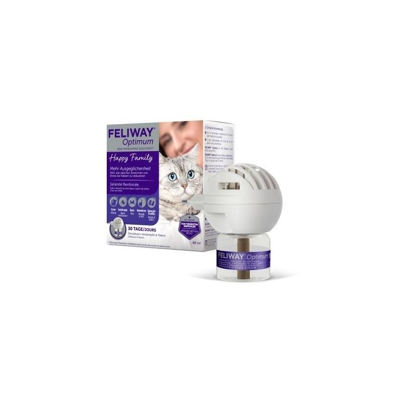 Feliway Optimum Difusor con Recambio 48 Ml