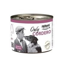 Retorn Lata Perro Only Cordero 185 gr